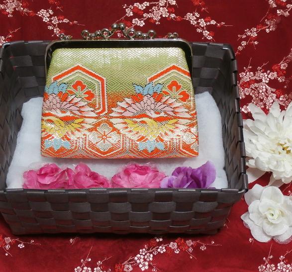 財布/和装和風和服着物鞄バッグ Wallet/Japanese kimono bags_画像2