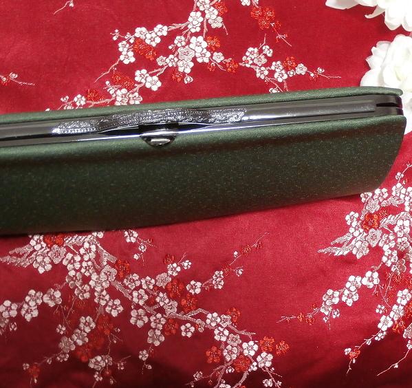 緑天鵞絨財布/和装和風和服着物鞄バッグ Japanese kimono bags_画像5
