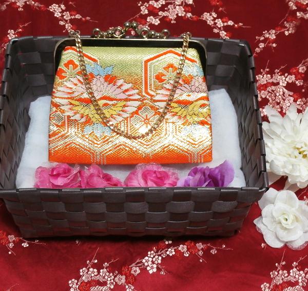 財布/和装和風和服着物鞄バッグ Wallet/Japanese kimono bags_画像1