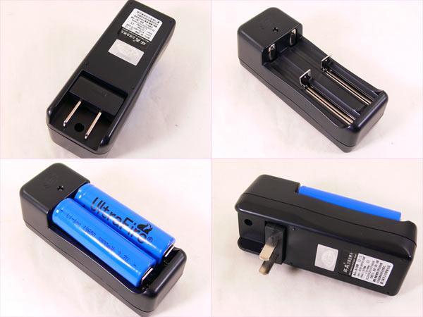 18650 リチウムイオン 充電池 2600mahx1本 同梱OK_画像2