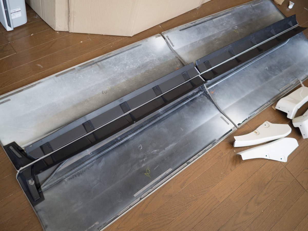 20 アルファード ヴェルファイア モデリスタ ドアパネル サイドパネル サイドスカート 070 X G_画像2