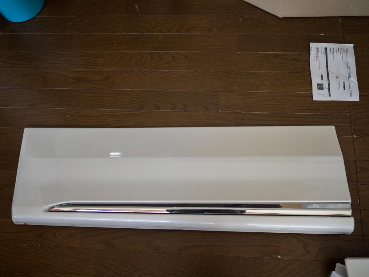 20 アルファード ヴェルファイア モデリスタ ドアパネル サイドパネル サイドスカート 070 X G_画像7