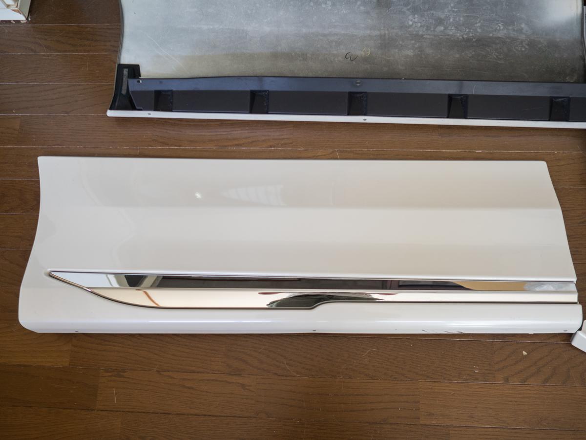 20 アルファード ヴェルファイア モデリスタ ドアパネル サイドパネル サイドスカート 070 X G_画像3