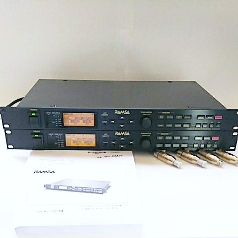 56万円 2~4way デジタルチャンネルデバイダー RAMSA WZ-DM35 ペア 動作確認済、動作不良時,返品返金対応 。Accuphase cap、取扱説明書付