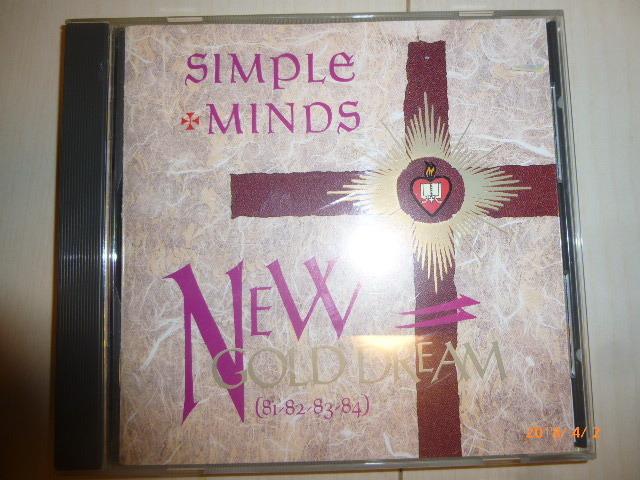 107/CD/SIMPLE MINDS NEW GOLD DREAM シンプル・マインズ_画像1