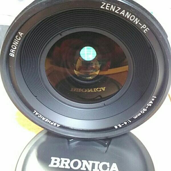 BRONICA ZENZANON-PE f=45-90mm 1:4-5.6