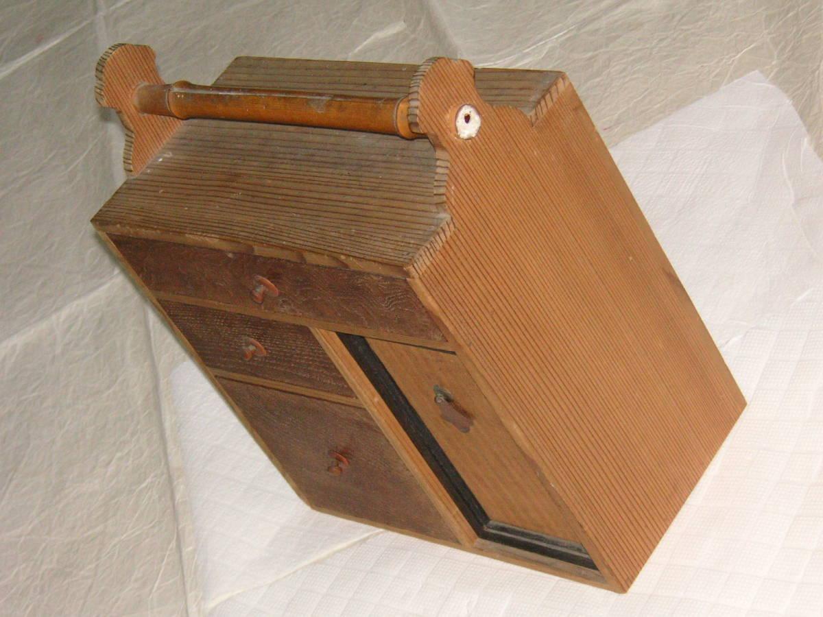 煎茶道具 道具入れ 竹、玉杢_画像3