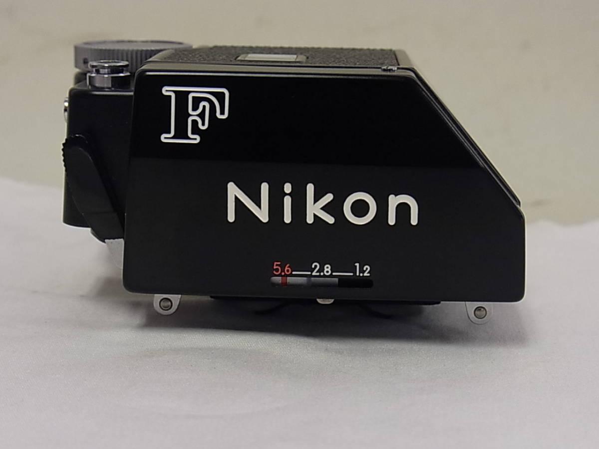 ニコン MF一眼レフカメラ Nikon F 用 FTN ファインダー ブラック NIKON_画像2