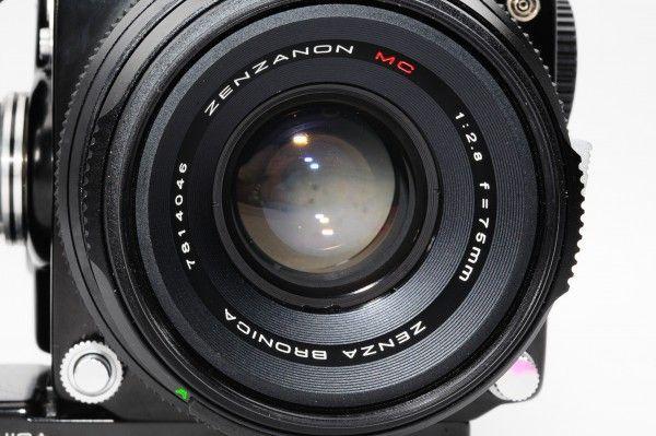 【希少品】 ゼンザブロニカ ZENZA BRONICA ETRS ZENZANON MC 75mm F2.8 [B6107237]_画像5