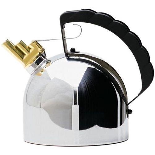 アレッシィ 9091 ホイッスル ケトル ( Alessi 9091 Kettle By Richard Sapper with Melodic Whistle ) 商品代金+送料=32000円_画像1