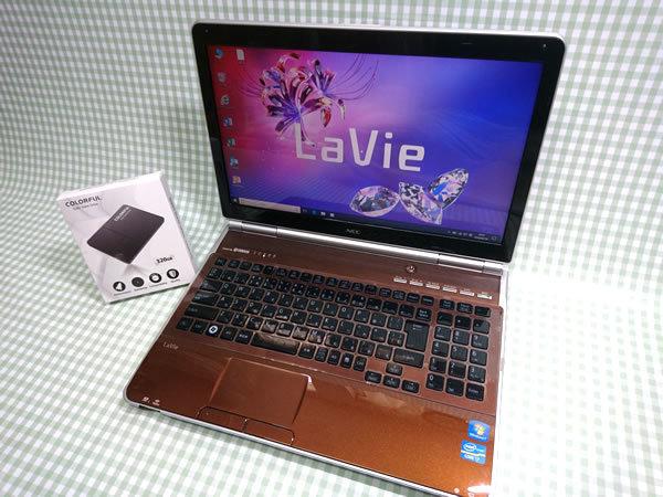 超高速 Core i7 【新品】320G SSD【超快速仕様☆Windows10】NEC LL750/F PC-LL750F26C メモリ8G BD-RE Office 高音質YAMAHA音源 1円~