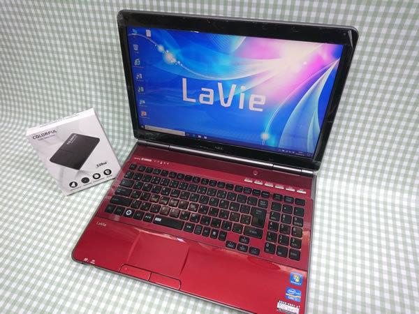 美品 Core i7 【新品】320G SSD【超快速仕様☆Windows10】NEC LL750/E PC-LL750ES3KS メモリ8G BD-RE Office 高音質YAMAHA音源 1円~