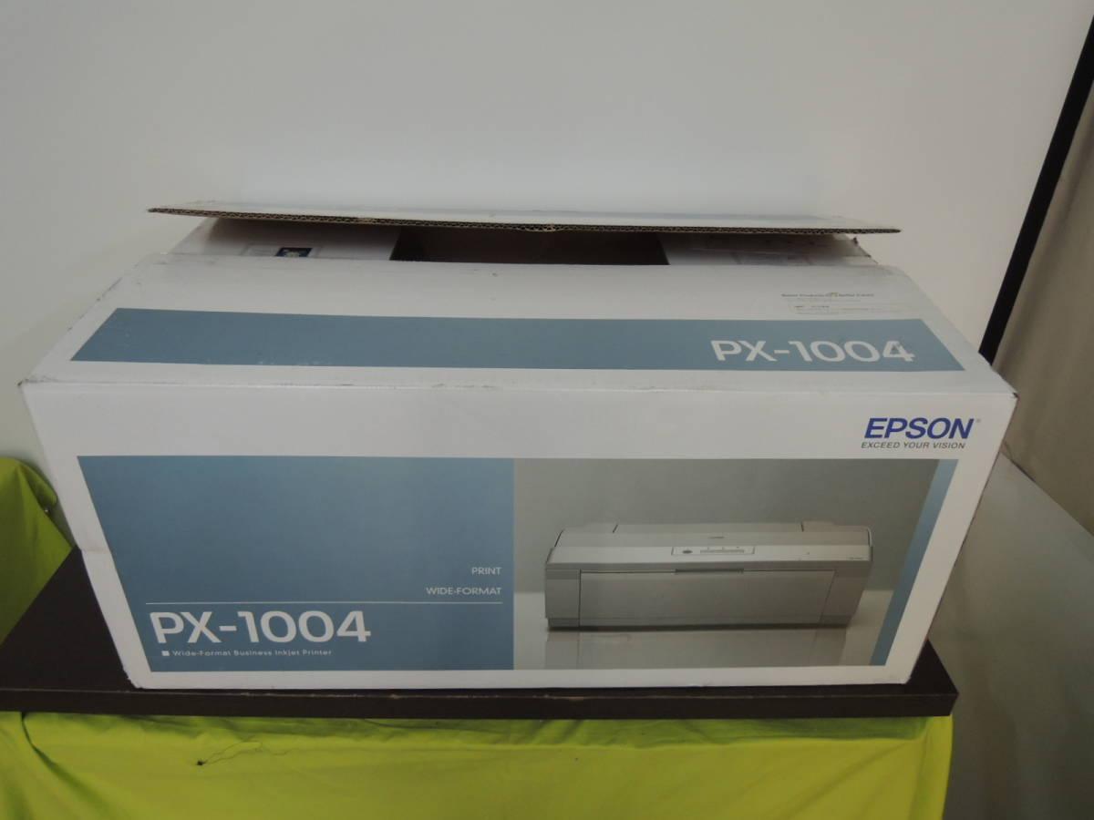 A3インクジェットプリンター PX-1004 写真のため開梱 保証書あり ビジネス文書からPOP封筒まで多彩な印刷ニーズに応えるノビ対応プリンター_画像6
