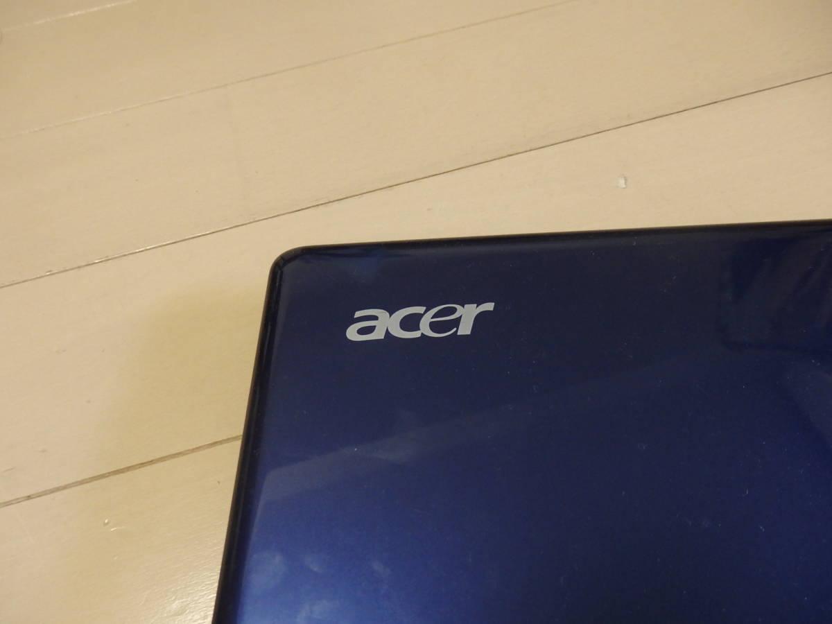 Acer ノートパソコン ASPIRE One  中古 ウインドウズXP ジャンク品 動作良好_画像2