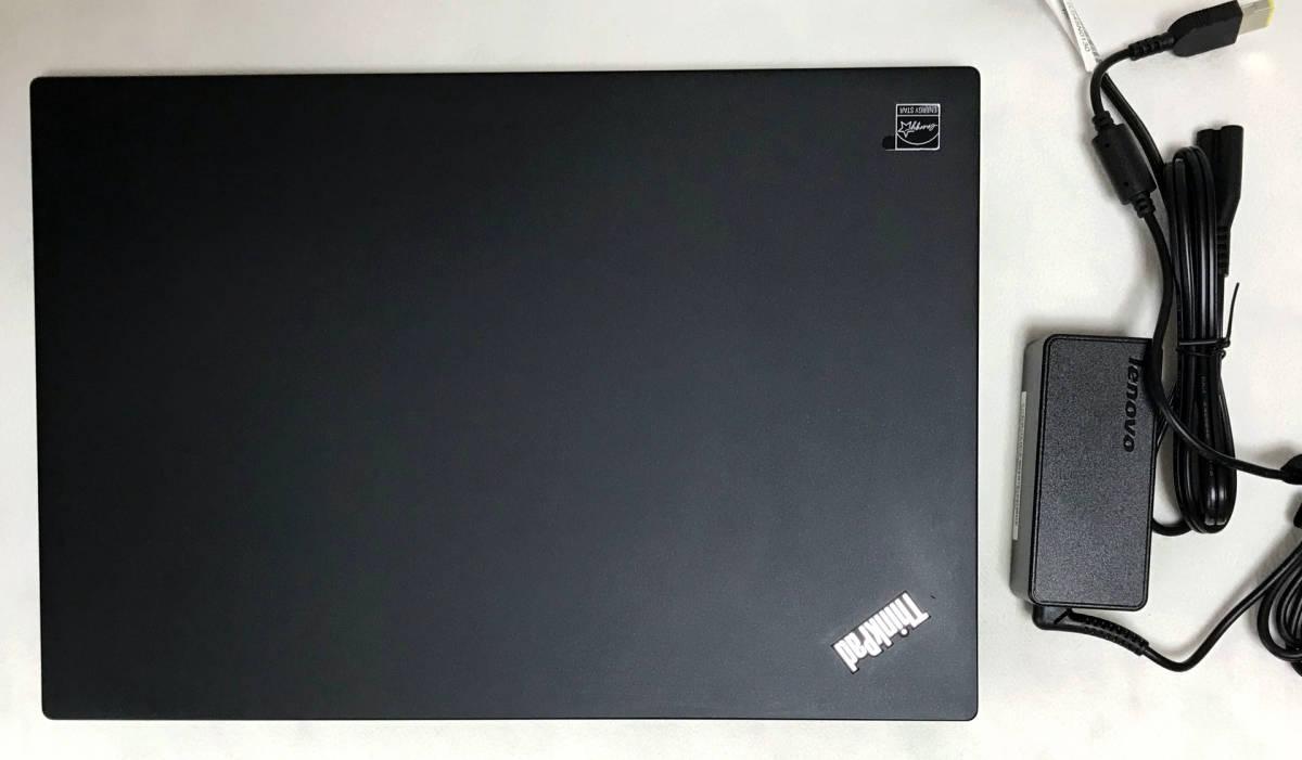 美品 Lenovo ThinkPad T460s Core i7-6600U 24GB-メモリ 256GB-SSD 1920x1080-LCD US仕様
