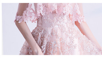 素素敵なカラードレス 結婚式 披露宴 お色直し 二次会 パーティー 演奏会 発表会 ステージ衣装 YL101_画像7