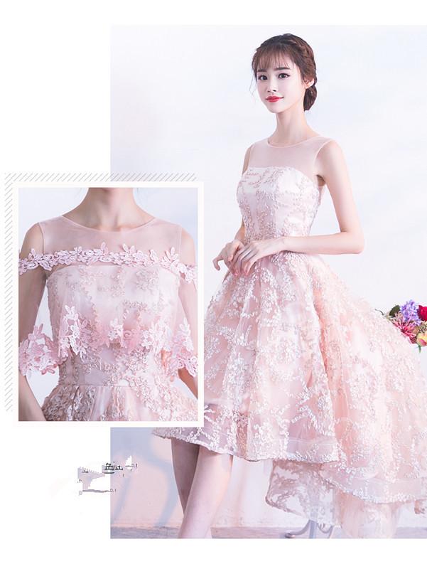 素素敵なカラードレス 結婚式 披露宴 お色直し 二次会 パーティー 演奏会 発表会 ステージ衣装 YL101_画像2