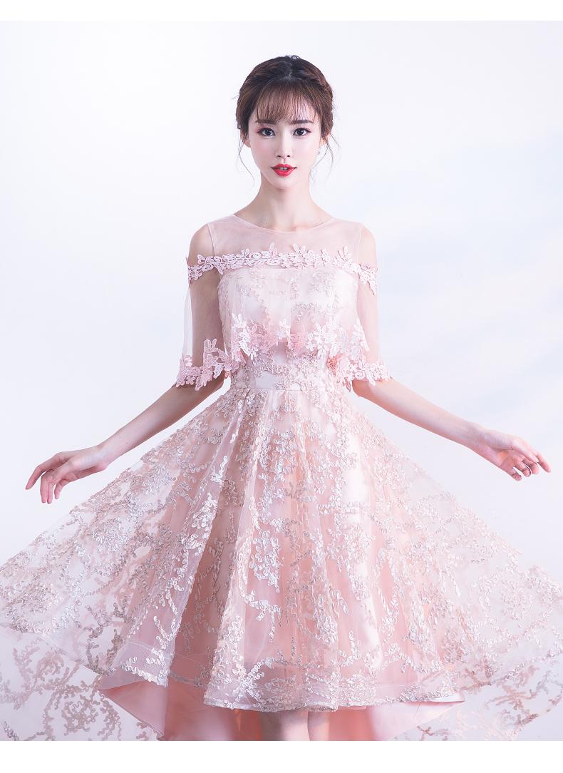 素素敵なカラードレス 結婚式 披露宴 お色直し 二次会 パーティー 演奏会 発表会 ステージ衣装 YL101_画像3