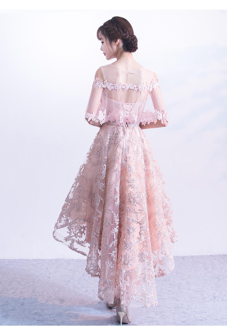 素素敵なカラードレス 結婚式 披露宴 お色直し 二次会 パーティー 演奏会 発表会 ステージ衣装 YL101_画像8