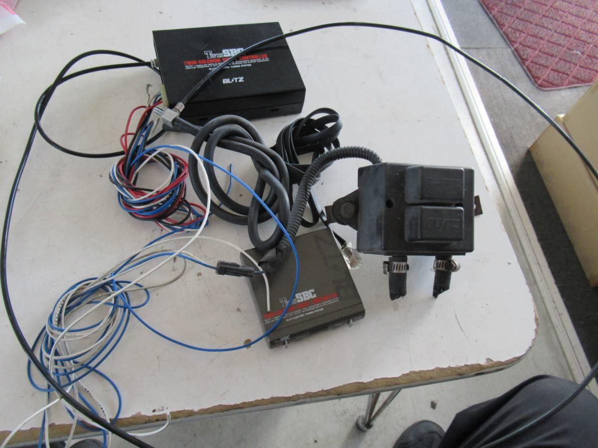 スズキ EA21R カプチーノ外し BLITZ TWIN SBC ブーストコントローラー 当時物 中古品 100円スタート売り切り ゆうパック送料着払い発送