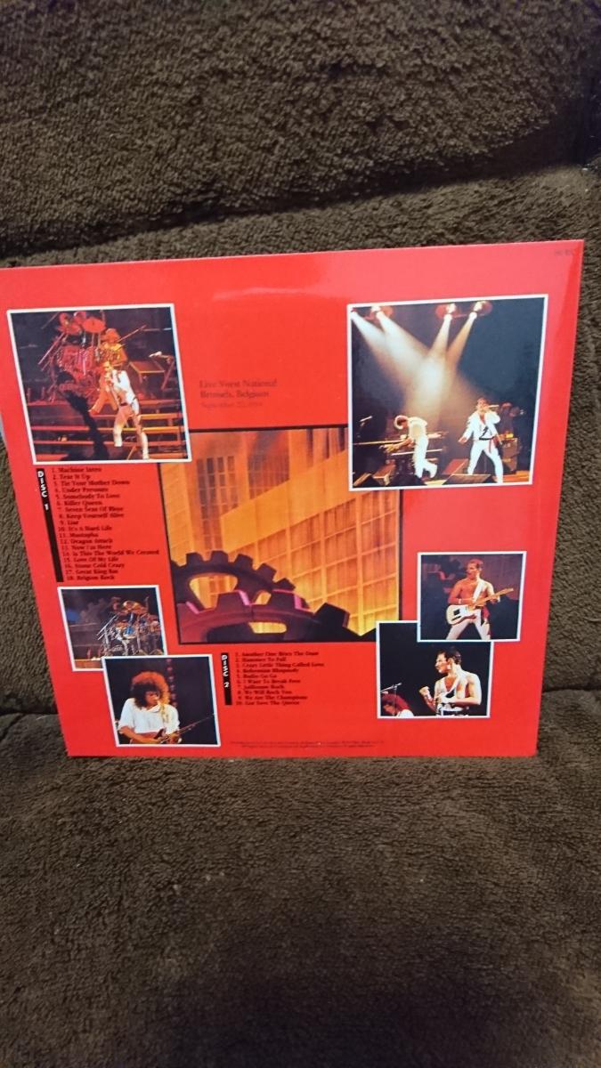 【美品】QUEEN / KINGS FAVOURITE ライブ・ベルギー1984 《紙ジャケット》クイーン_画像2