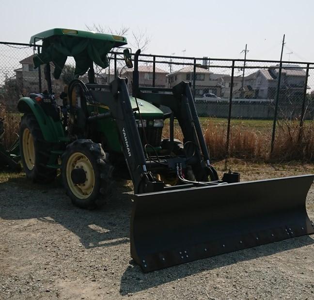 ★兵庫発 ジョンディア トラクター JD5325 2156h 排土板付き 売切★