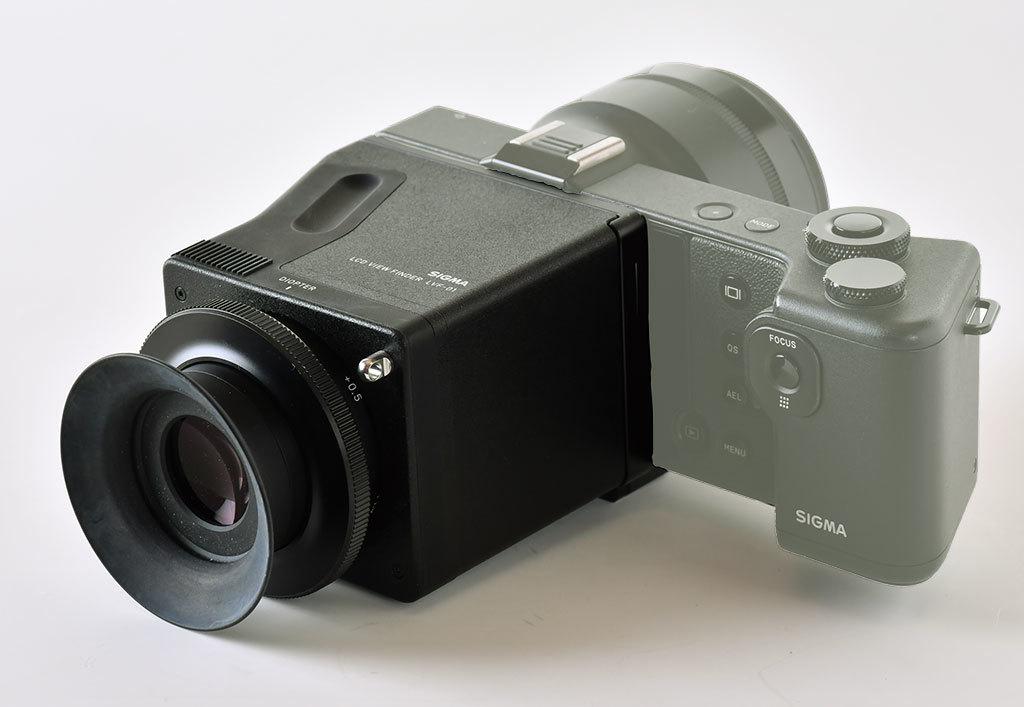 シグマ ビューファインダーLVF-01(dp Quattroシリーズ用)_画像2