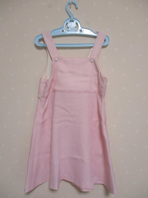 ■ メゾピアノ ■ 可愛いジャンバースカート 120cm ピンク 美品_画像2