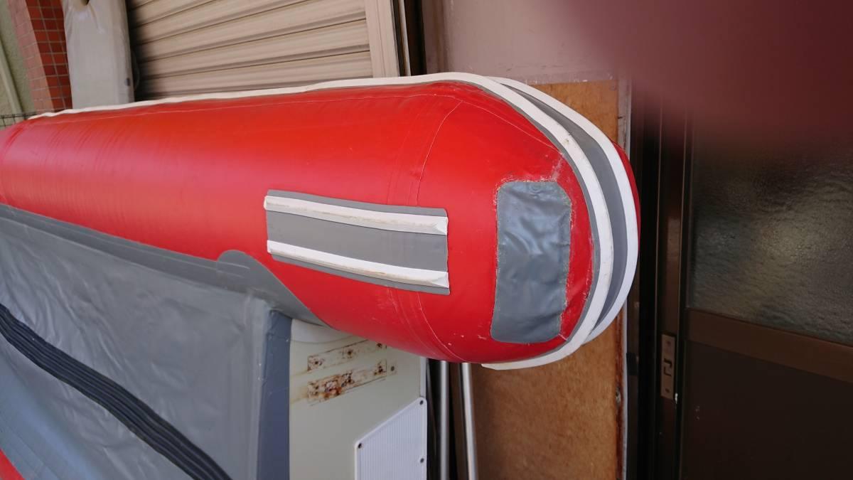 ジョイクラフト 4人乗りボート 電動高圧ポンプ付き_画像7