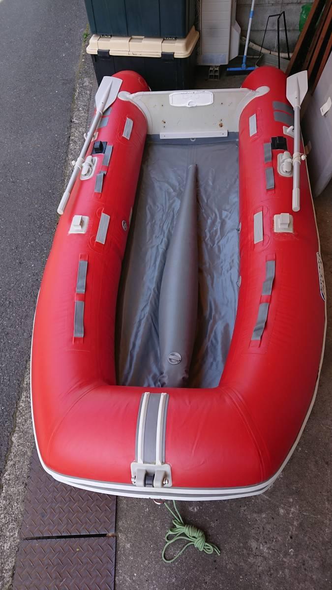 ジョイクラフト 4人乗りボート 電動高圧ポンプ付き
