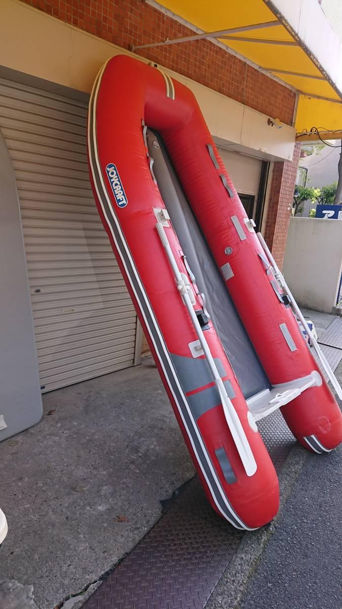 ジョイクラフト 4人乗りボート 電動高圧ポンプ付き_画像3