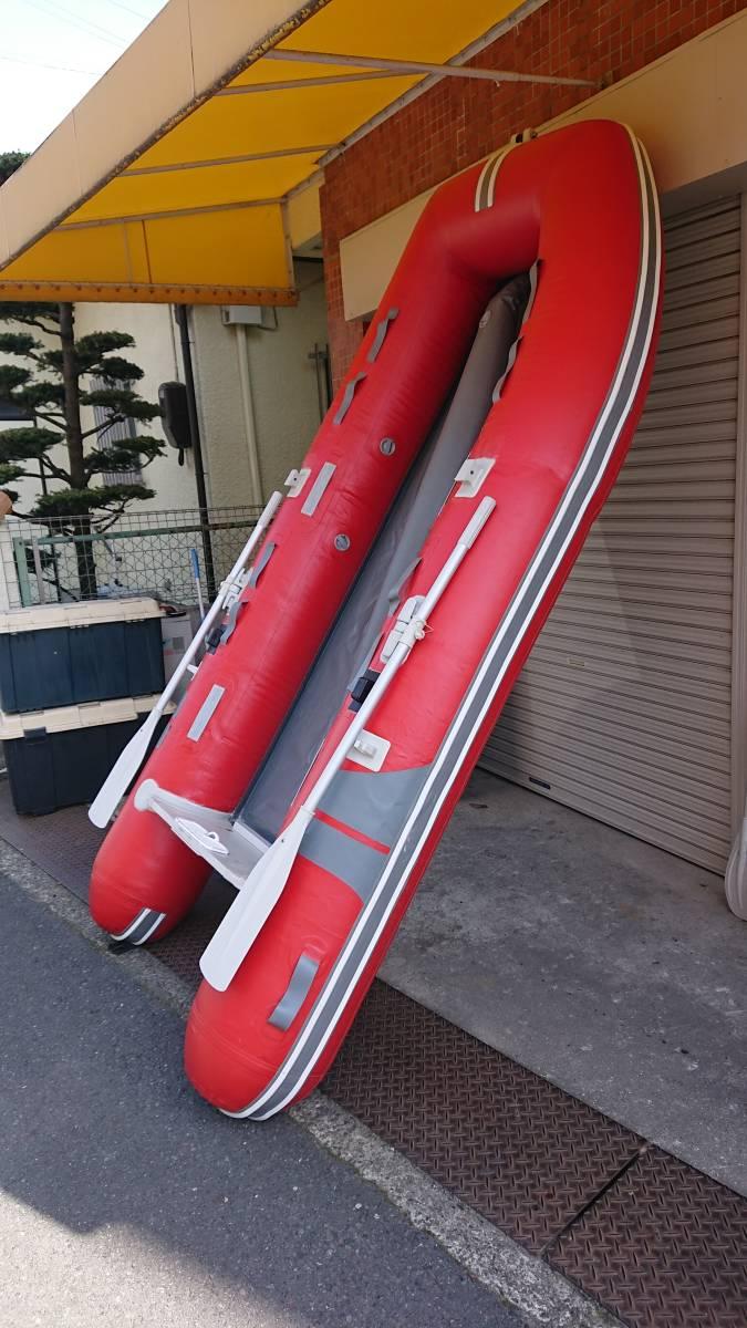 ジョイクラフト 4人乗りボート 電動高圧ポンプ付き_画像4