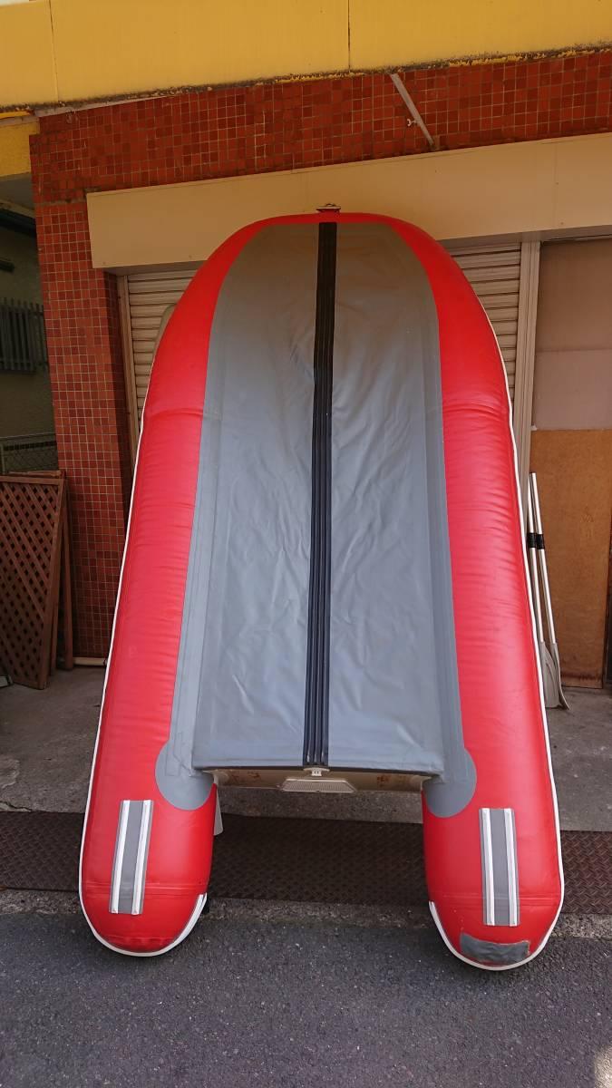 ジョイクラフト 4人乗りボート 電動高圧ポンプ付き_画像5