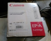 CANON キヤノン EP-A トナー 純正 箱汚れあり 長期保管品_画像1