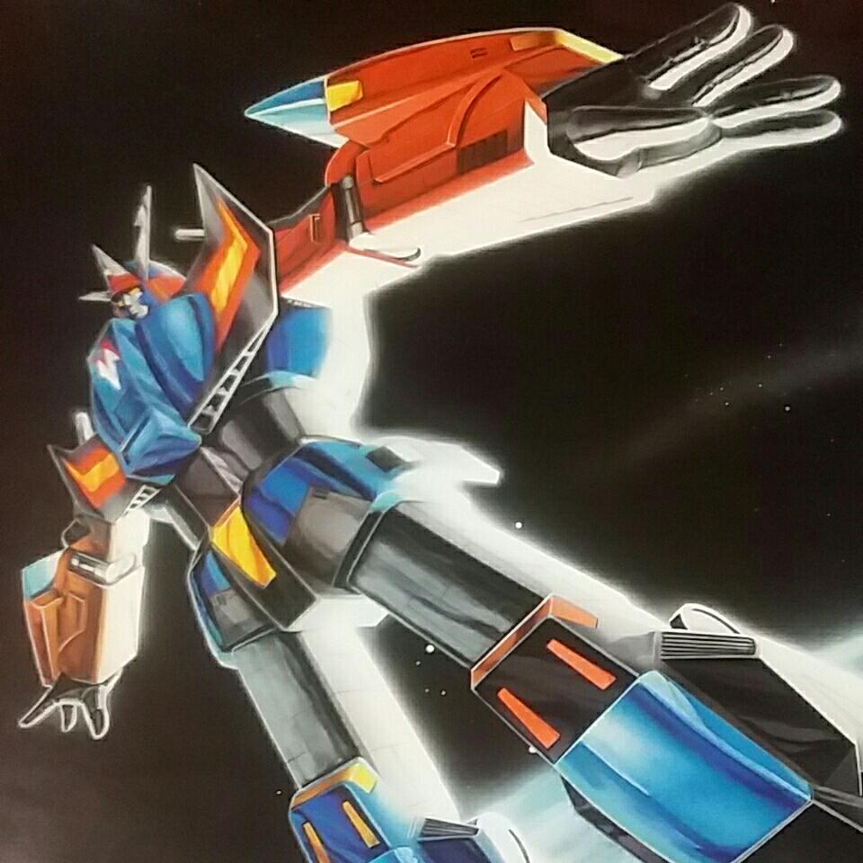TV anime poster [ Milky Way . manner bak singer ] Komatsu . one man