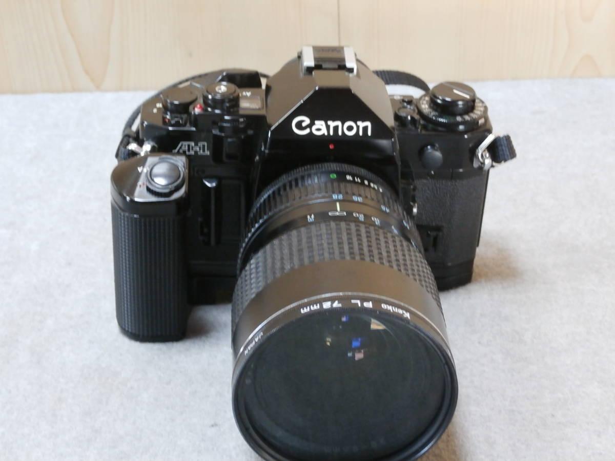 Canon A-1,レンズ RMC TOKINA 28-85mm 1:4 動作可良品