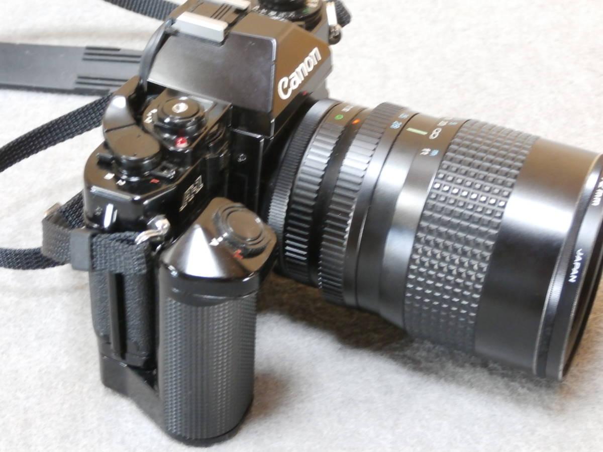 Canon A-1,レンズ RMC TOKINA 28-85mm 1:4 動作可良品_画像2