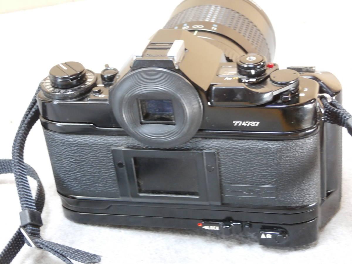 Canon A-1,レンズ RMC TOKINA 28-85mm 1:4 動作可良品_画像3