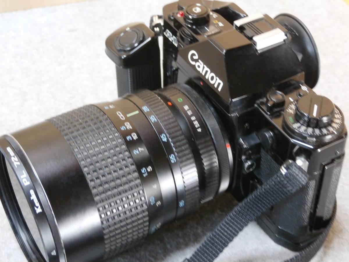 Canon A-1,レンズ RMC TOKINA 28-85mm 1:4 動作可良品_画像5