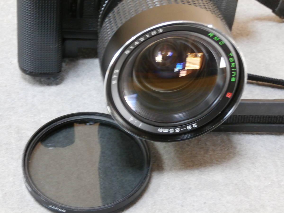 Canon A-1,レンズ RMC TOKINA 28-85mm 1:4 動作可良品_画像6