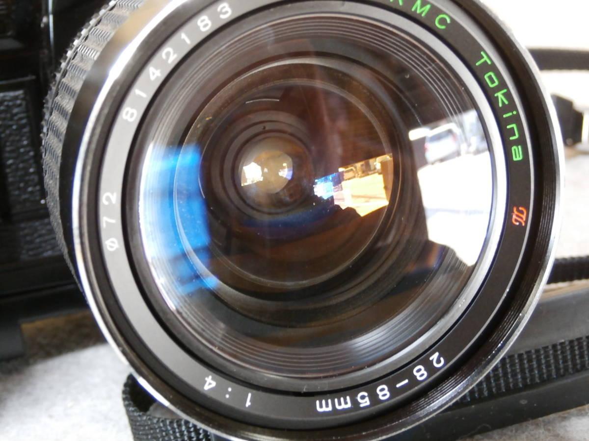 Canon A-1,レンズ RMC TOKINA 28-85mm 1:4 動作可良品_画像7