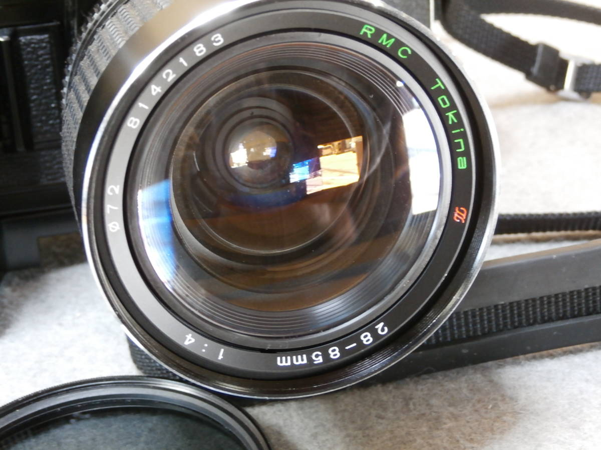 Canon A-1,レンズ RMC TOKINA 28-85mm 1:4 動作可良品_画像8