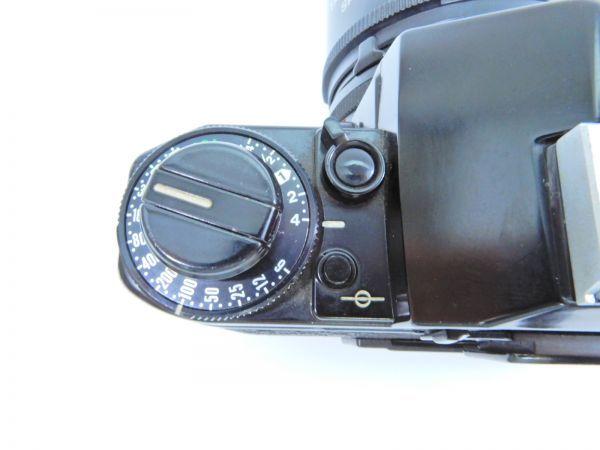 Canon ボディ A-1 レンズ2点 TAMRON SP 90mm 1:2.5 MINOLTA MD ROKKOR 50mm 1:1.7 シャッター確認済み_画像4