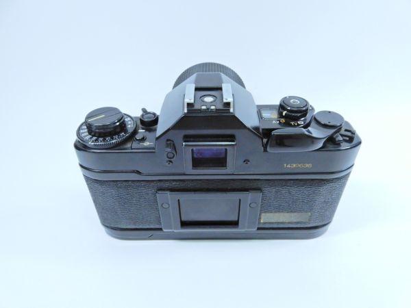 Canon ボディ A-1 レンズ2点 TAMRON SP 90mm 1:2.5 MINOLTA MD ROKKOR 50mm 1:1.7 シャッター確認済み_画像2