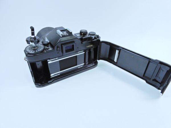 Canon ボディ A-1 レンズ2点 TAMRON SP 90mm 1:2.5 MINOLTA MD ROKKOR 50mm 1:1.7 シャッター確認済み_画像3