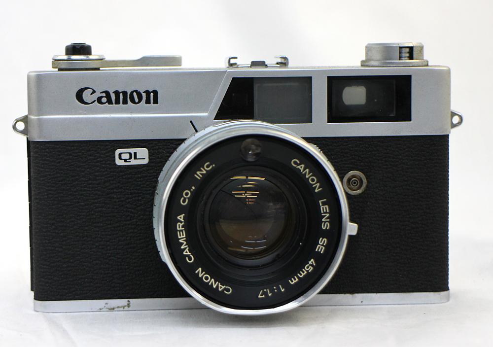 【Canon】 キャノン レンジファインダー Canonet QL17 / Canonet QL17 G-Ⅲ / Canon7 MODEL7 3台セット 現状お渡し_画像4