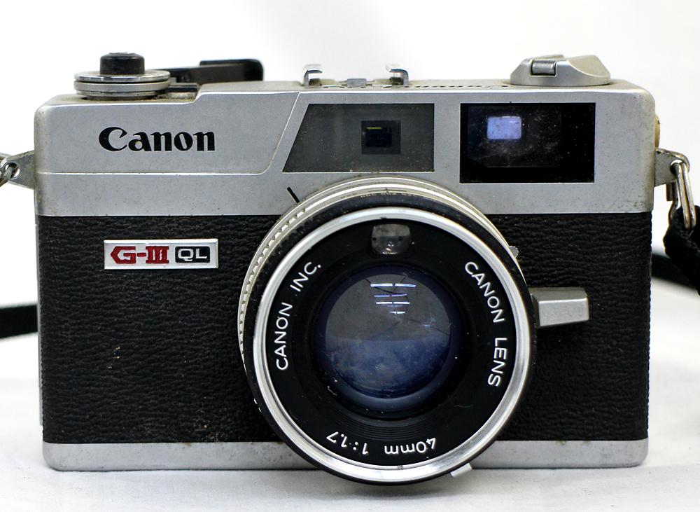 【Canon】 キャノン レンジファインダー Canonet QL17 / Canonet QL17 G-Ⅲ / Canon7 MODEL7 3台セット 現状お渡し_画像6