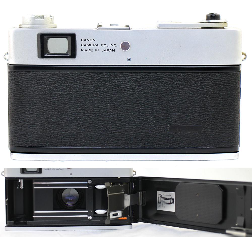 【Canon】 キャノン レンジファインダー Canonet QL17 / Canonet QL17 G-Ⅲ / Canon7 MODEL7 3台セット 現状お渡し_画像5