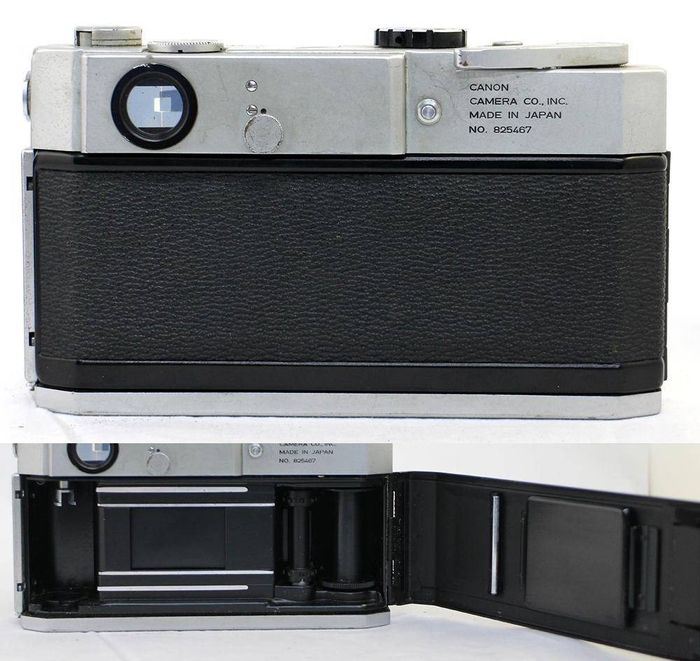 【Canon】 キャノン レンジファインダー Canonet QL17 / Canonet QL17 G-Ⅲ / Canon7 MODEL7 3台セット 現状お渡し_画像3