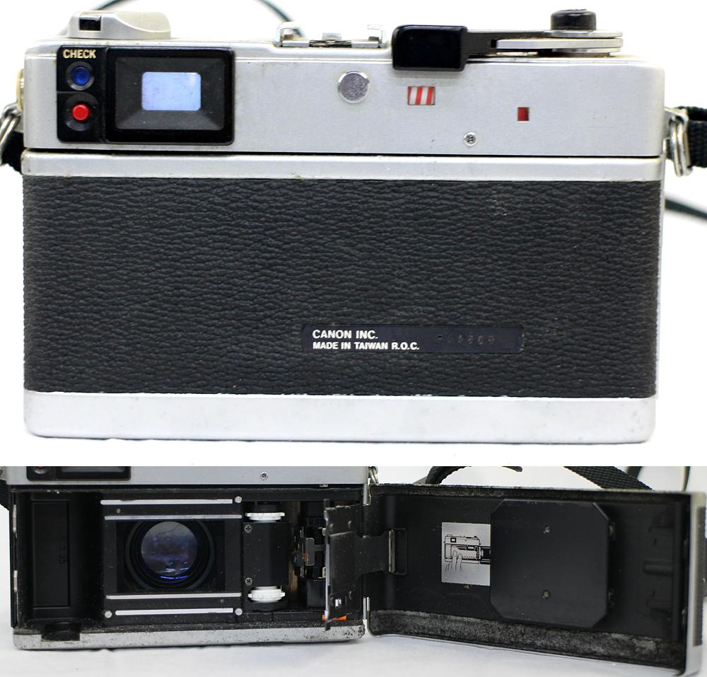 【Canon】 キャノン レンジファインダー Canonet QL17 / Canonet QL17 G-Ⅲ / Canon7 MODEL7 3台セット 現状お渡し_画像7